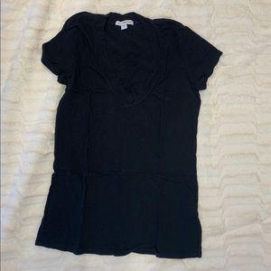 James Perse black v neck t-shirt